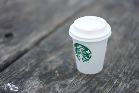White Starbucks Cup