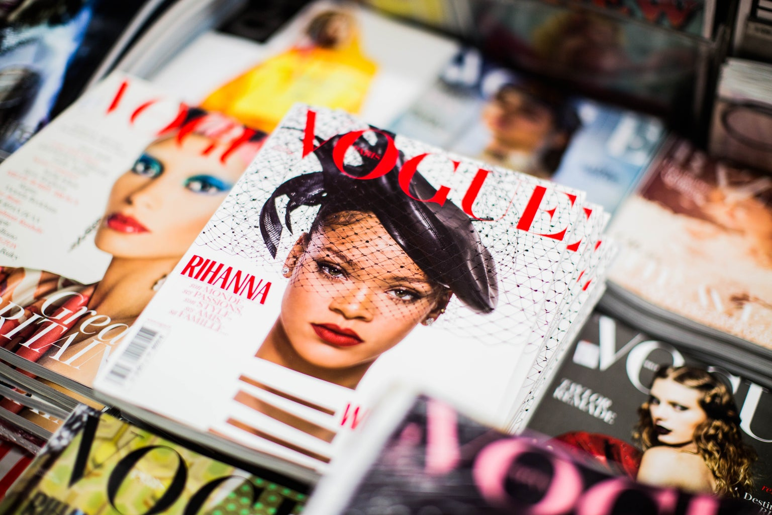 Rihanna on Vogue magazine