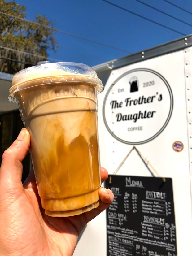 Frother's Daughter Drink