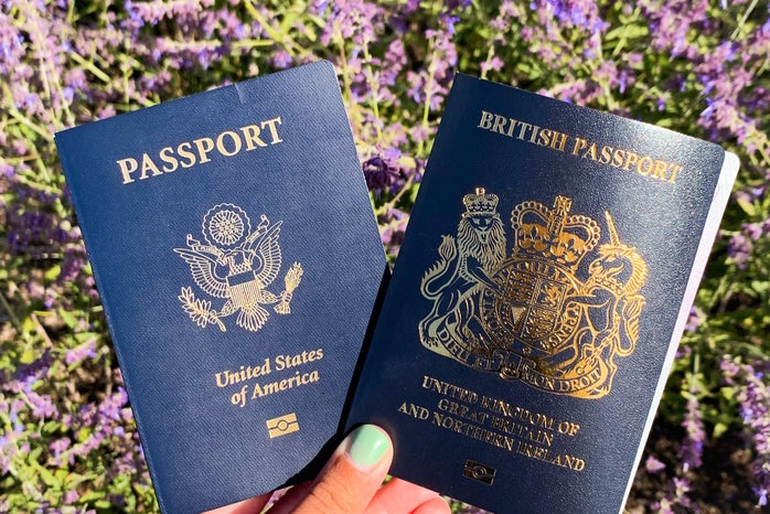 Picture covers of my passports to demonstrate the topic and main point of my article