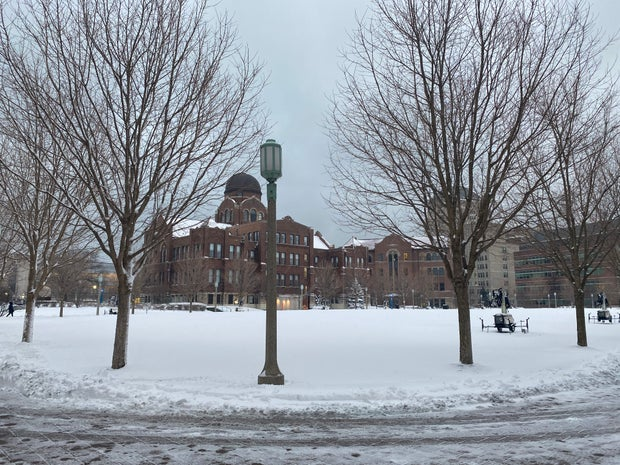 snow day at campus