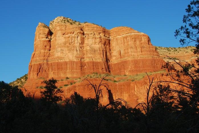 Arizona red rock formation