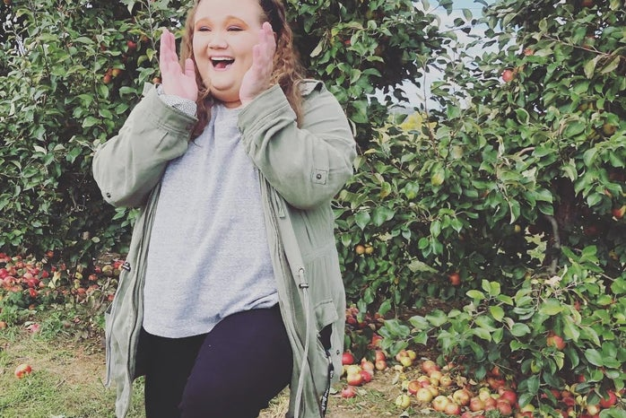Allie Bausinger apple orchard