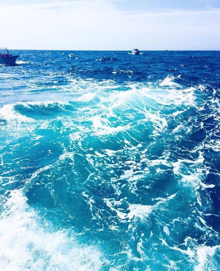 water ocean blue travel nature