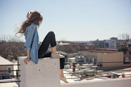 inspired city scape girl hair flip 5