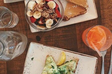 breakfast brunch toast granola food