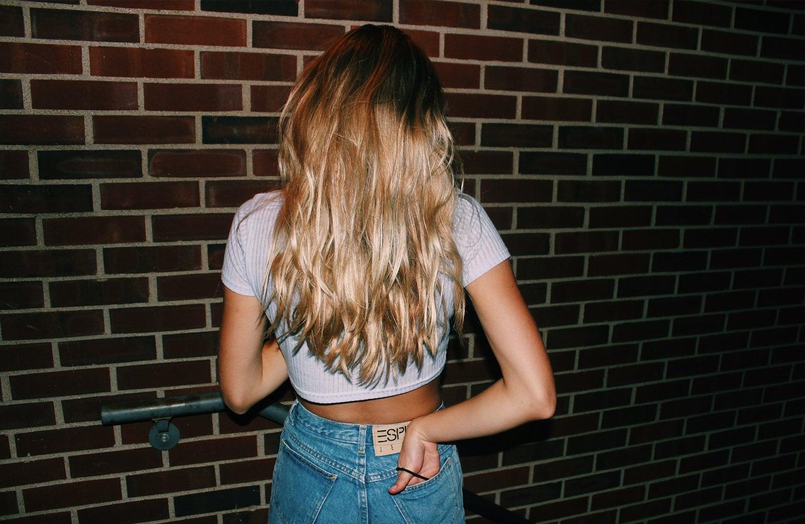 Anna Schultz-Hair Goals Against Brick Wall