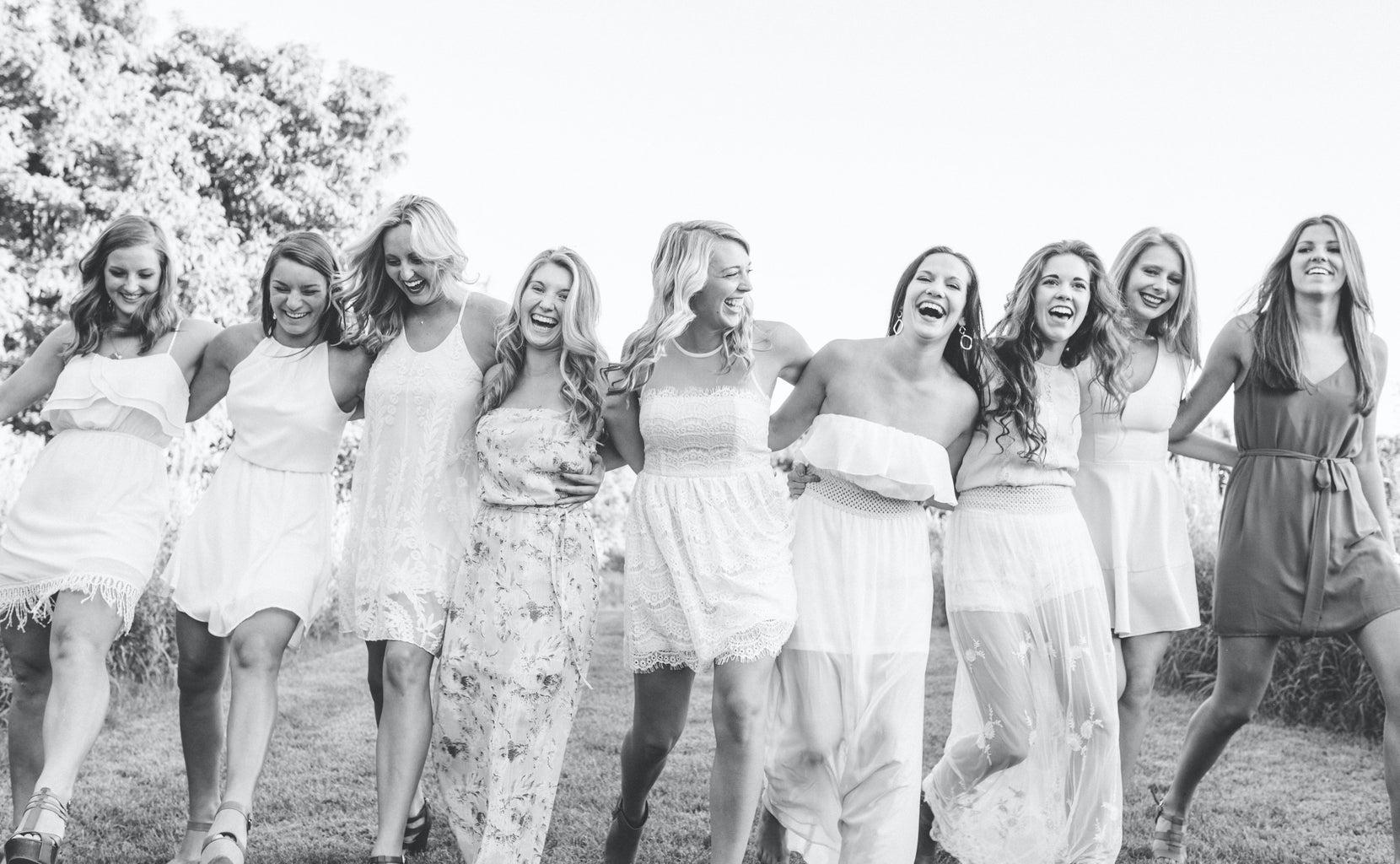 Happy Fun Laughing Girls