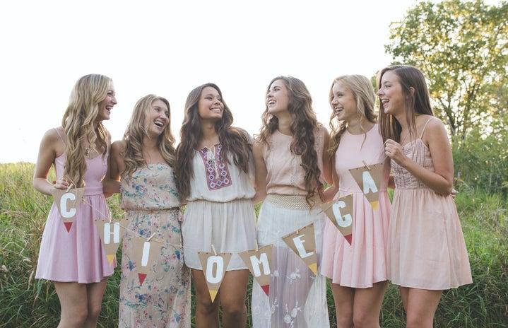 Chi Omega Sorority Girls