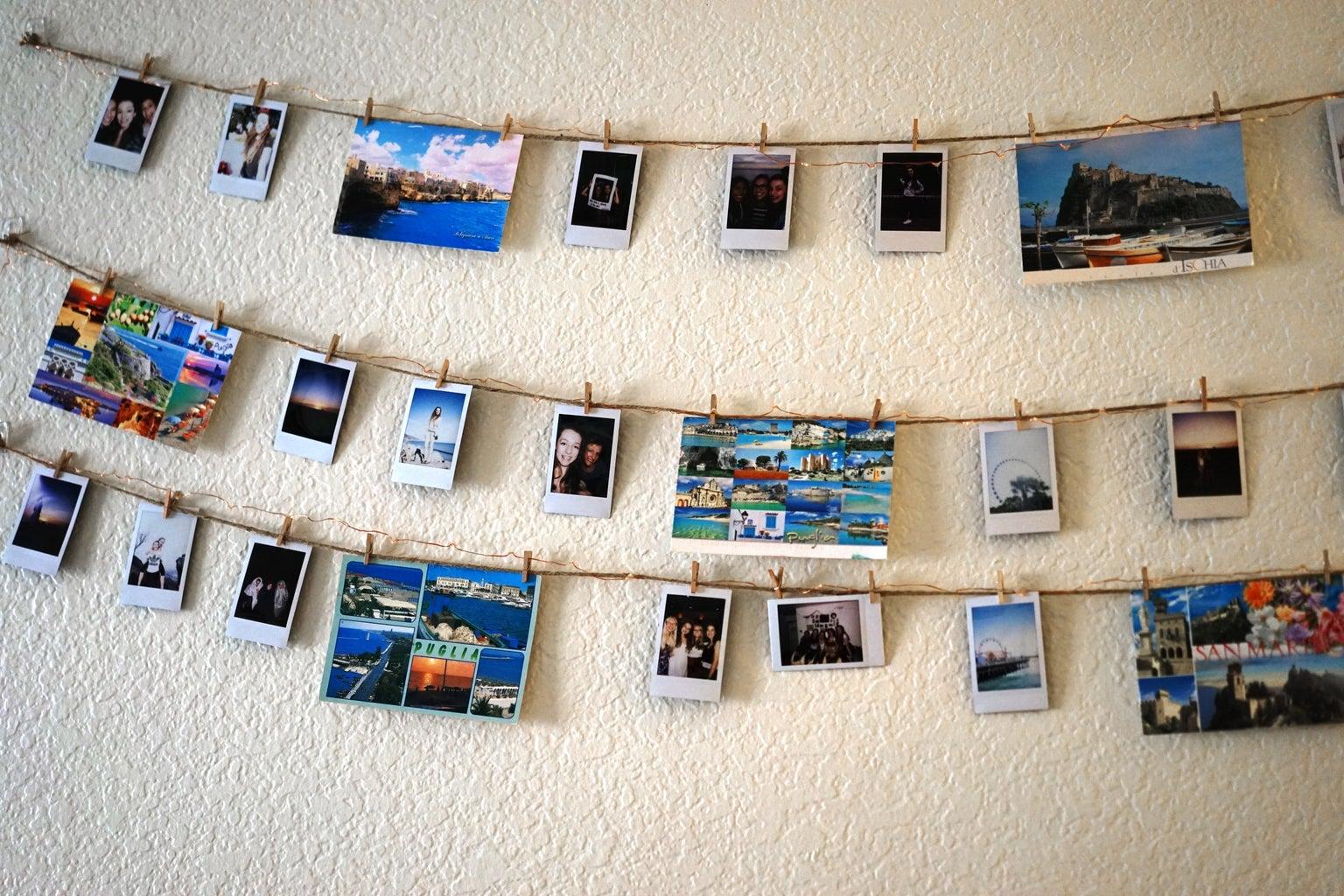 Laura Claypool-Postcards Dorm Wall Decor Photos Polaroids