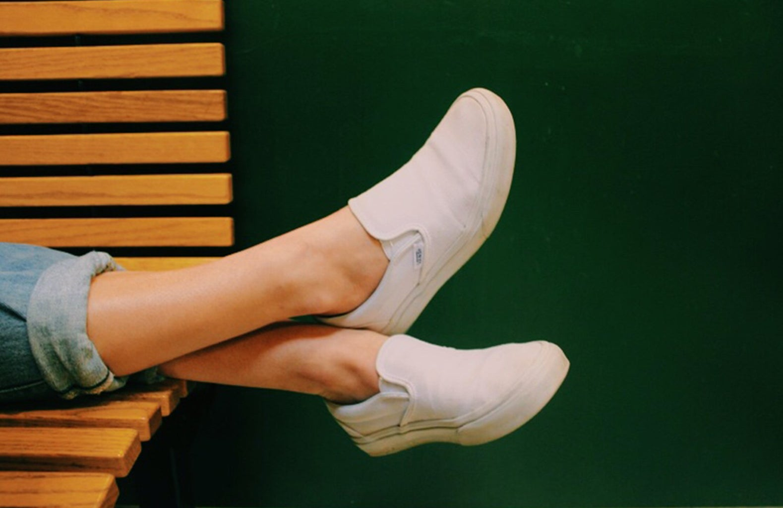 Anna Schultz-White Canvas Shoes Relaxing