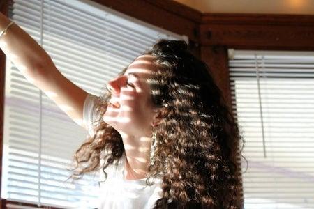 Girl Happy Smiling Blinds Sun Light Bracelet