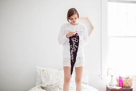 Kristen Bryant-College Sweatshirt 1