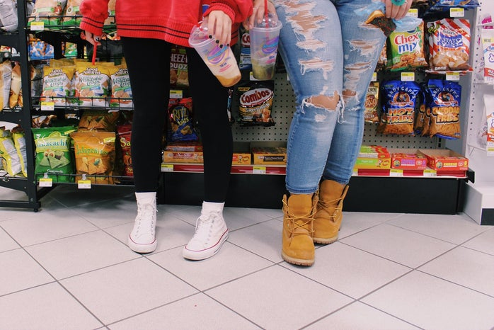 Anna Schultz-Converse And Timbs Gas Station