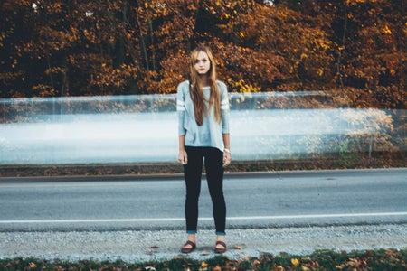 Kayla Bacon-Girl Standing Across The Street 2