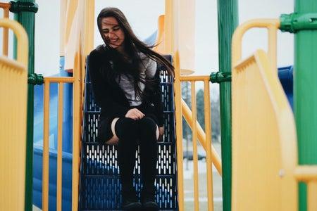 Celina Timmerman-Girl On Playground