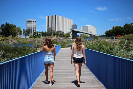 Kellyn Simpkin-Two Girls Walking