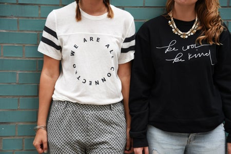 Friends In Graphic Tees