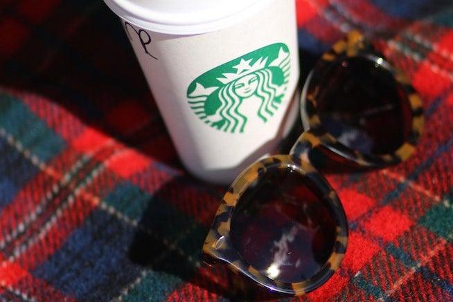 The Lalastarbucks Coffee And Sunglasses
