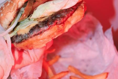Anna Schultz-Close Up Of Cheeseburger