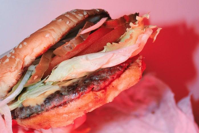 Anna Schultz-Delicious Cheeseburger Close Up