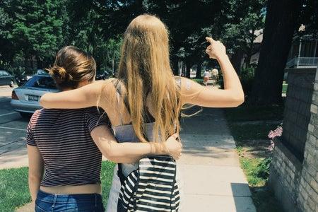 Anna Schultz-Best Friends Walking