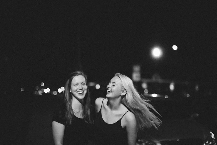 Molly Peach-Girls Laughing At Night