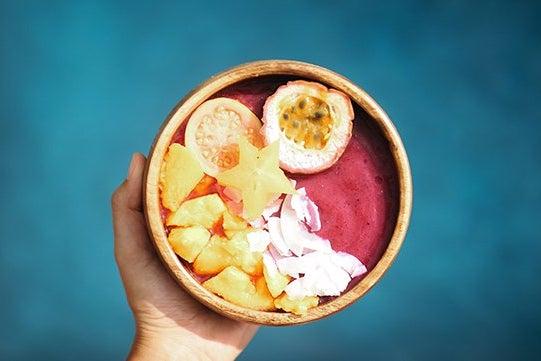 Hawaii Acai Bowl Smoothie Food Yummy Fruit Colorful 2