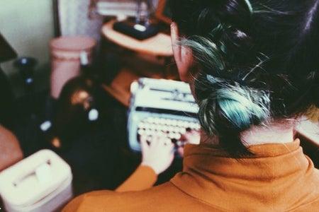 Amelia Kramer-Typewriter Vintage Antique Store