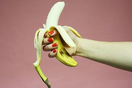 Banana Hand Nail Polish