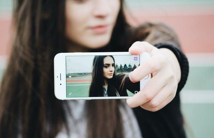 Celina Timmerman-Girl Taking Selfie