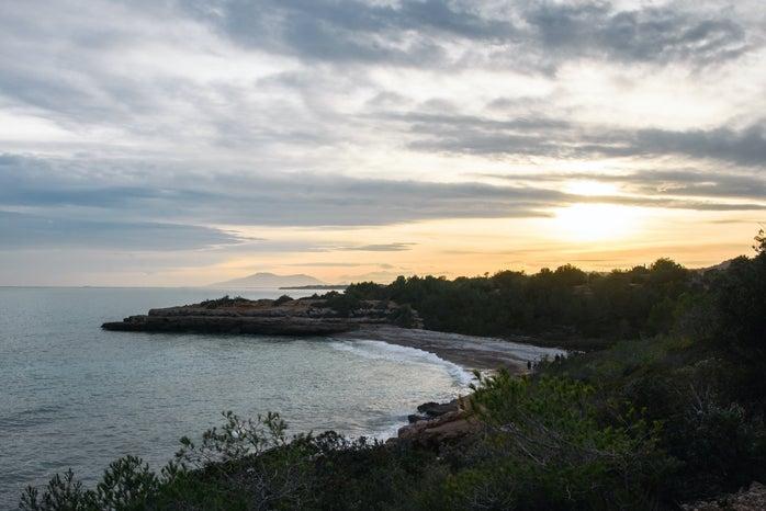 Cameron Smith-Beach Spain Europe Abroad Sunset Mountain Nature Trees Water Mediterranean Sea