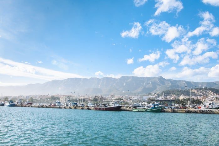 Cameron Smith-Abroad Spain Europe Mountain Water Mediterranean Sea Boats Port Sunny Clouds.Pdf