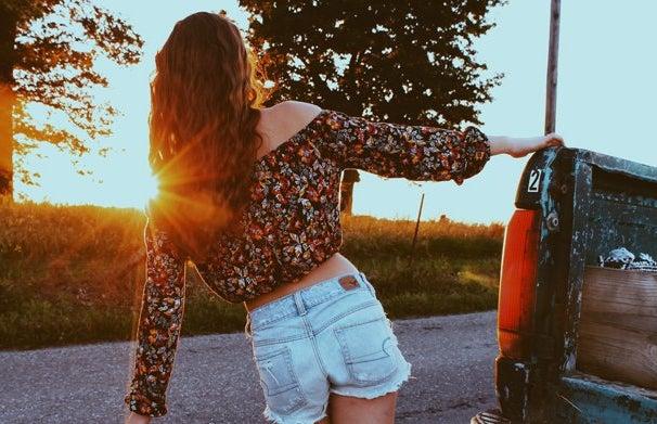 Amelia Kramer-Golden Hour Country Road Trip