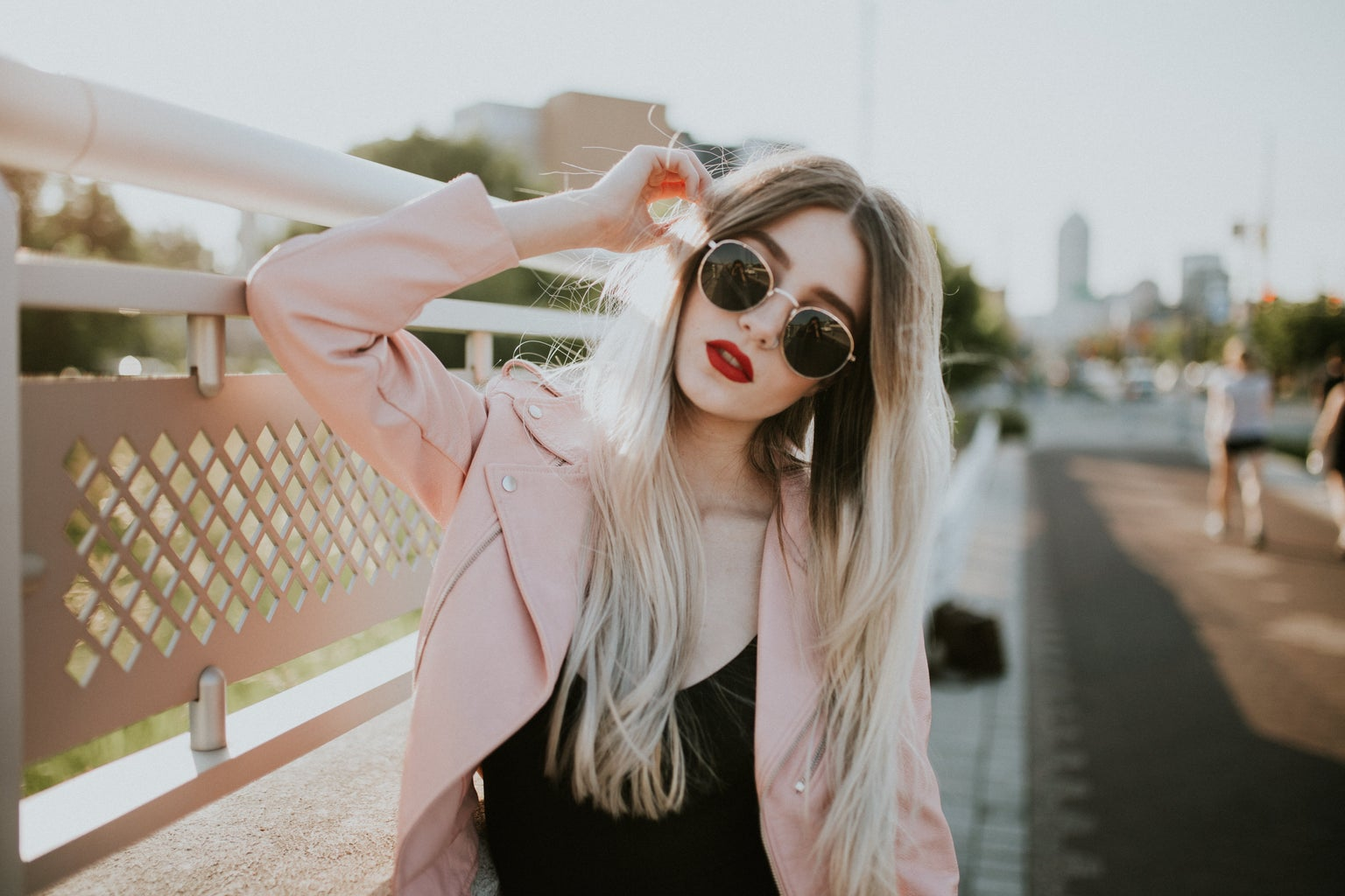 Girl With Shades 2