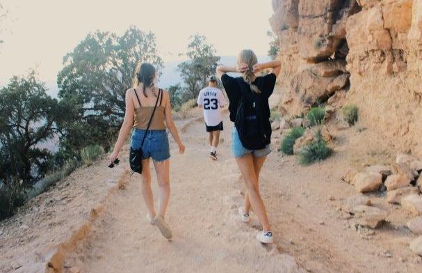 Anna Schultz-Friends On Hike