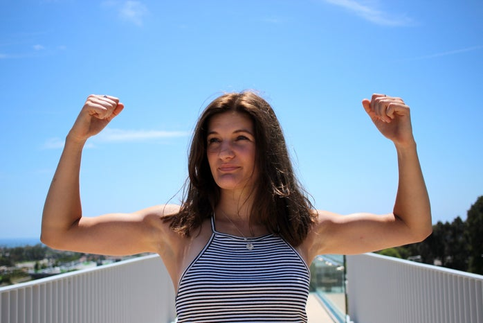 Kellyn Simpkin-Strong Ass Powerful Girl