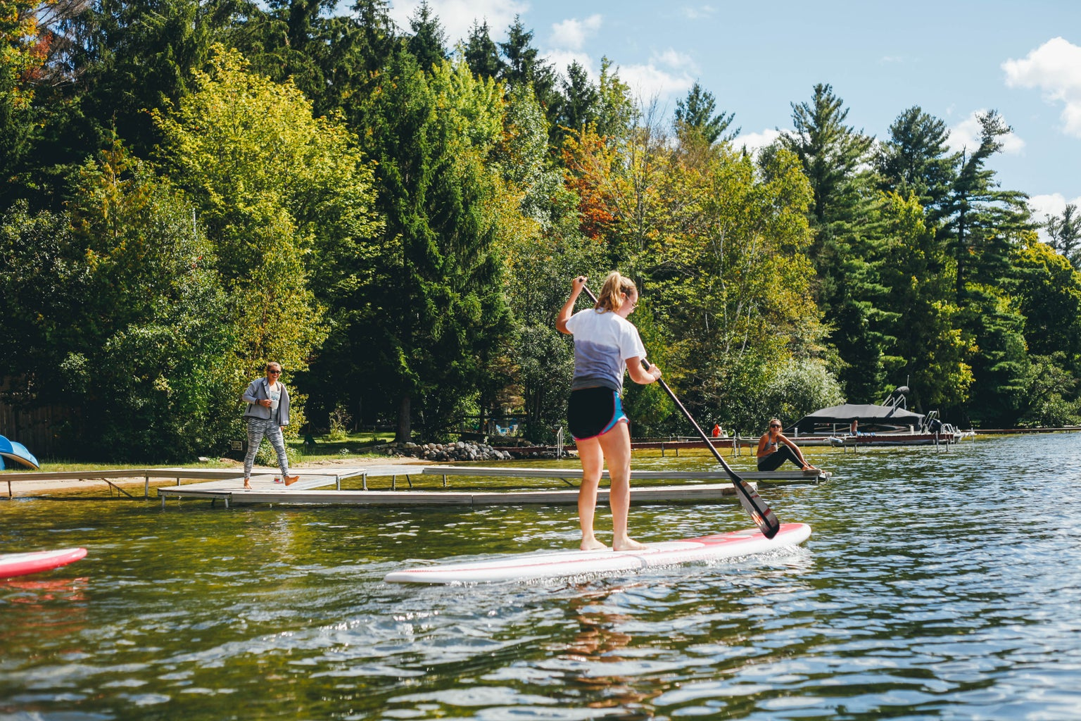 Kayla Bacon-Paddle Board Summer