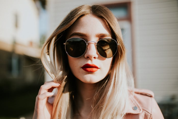 Girl With Shades