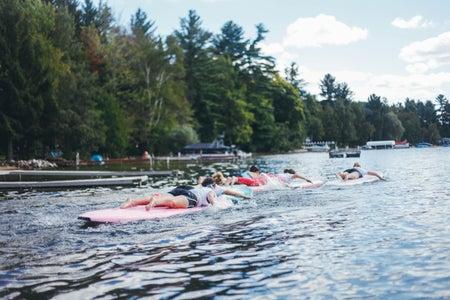 Kayla Bacon-Surfing Summer In Water