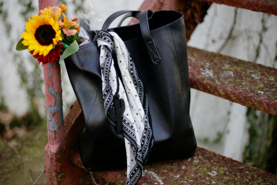 Dimi Boutselis-Bag Flowers Sunflower Fashion Style