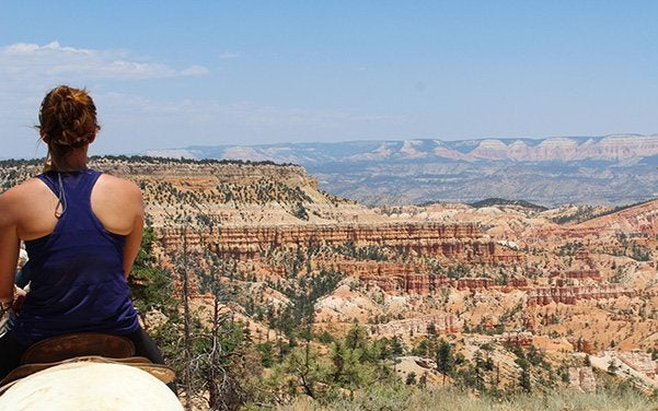 Maria Scheller-Girl Horse Riding Hiking Bryce National Park Utah Adventure Camping Active