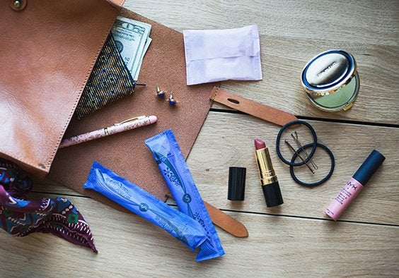 Kristen Bryant-Things I Keep In My Purse Flat Lays