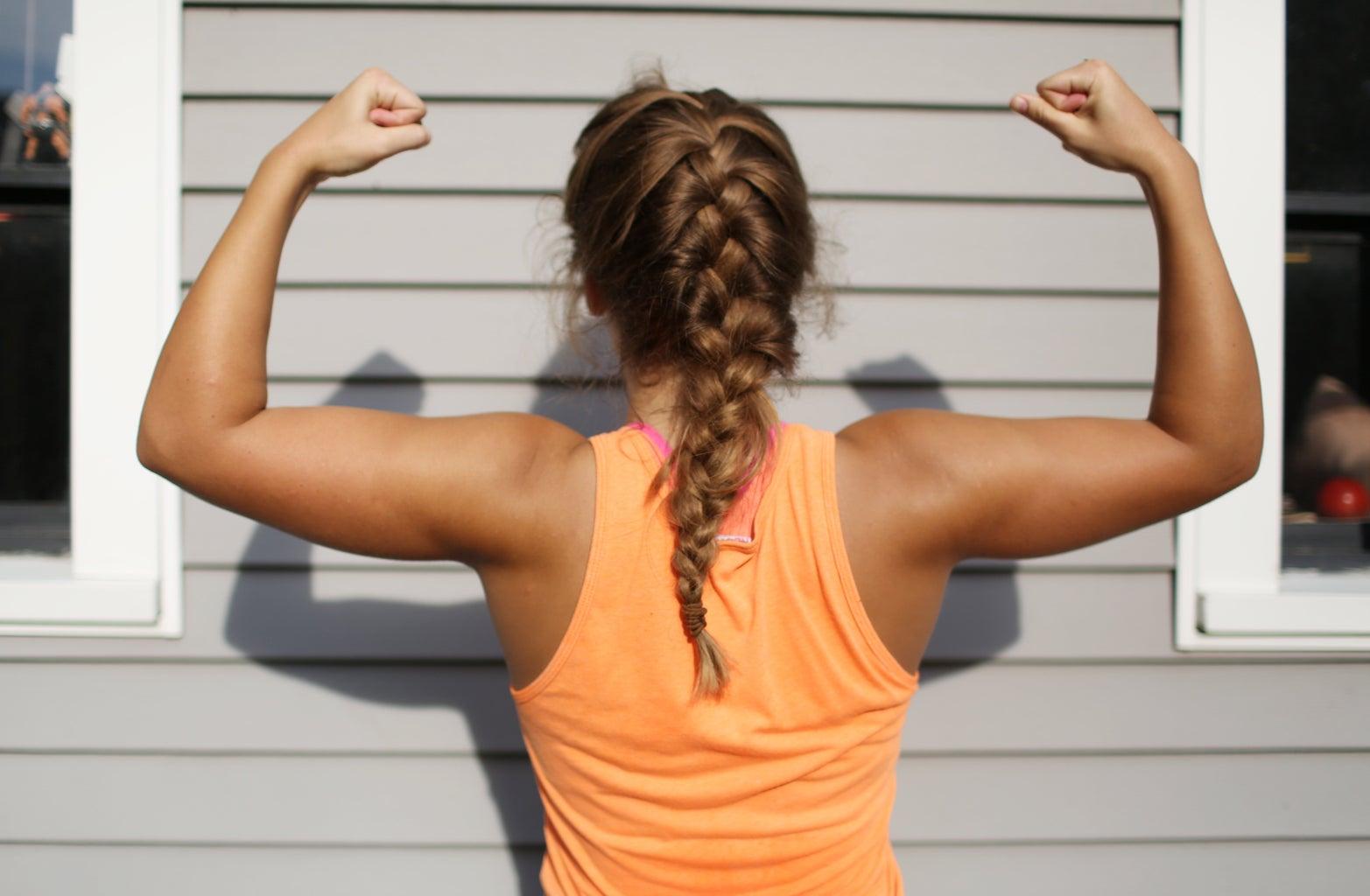 Strong Arms Girl