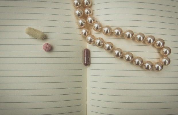 Kristen Bryant-Medicine On Notebook