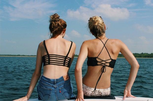 Anna Schultz-Friends Facing Lake