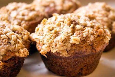 Spoon Csu-Chocolate Chip Banana Nut Muffins
