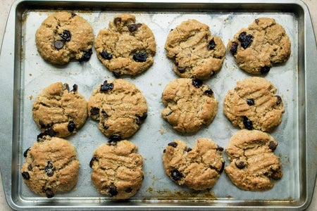 Spoon Csu-Blueberry Chocolate Chip Oatmeal Cookies