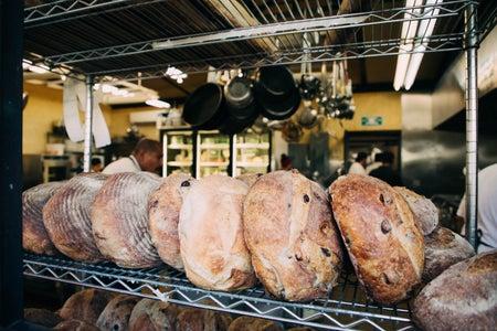 Bread On Rack