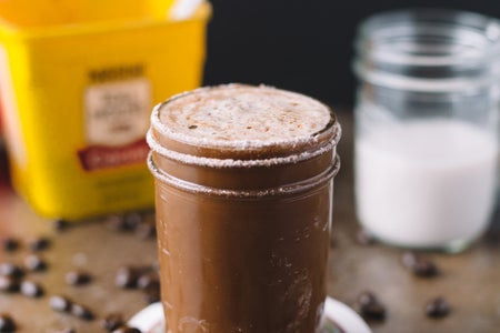 Mocha With Ingredients